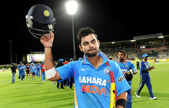 Virat Kohli's sensational ton against Sri Lanka allowed selectors to rest more responsibility on his young shoulders. He has been appointed deputy to MS Dhoni.