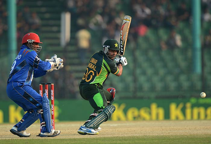 Umar Akmal, who scored a fifty in the opening tie against Sri Lanka, worked hard for his runs and managed to stay defiant in tough circumstances.