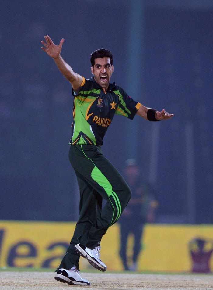 Afghanistan started positively before Umar Gul provided the first breakthrough, dismissing Mohammed Shahzad in the fifth over.