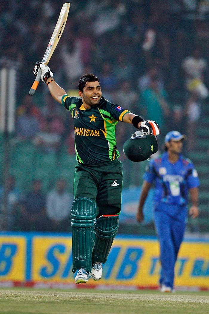 Umar Akmal saved Pakistan's sinking ship and anchored the side to 248/8 with an unbeaten century.