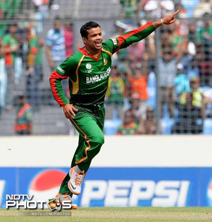One of the three left arm spinners in the Bangladesh team, Abdur Razzak can be a wily customer on the slow and low pitches at home. With conditions in his favour, Razzak could be a key factor in the middle overs for Bangladesh.
