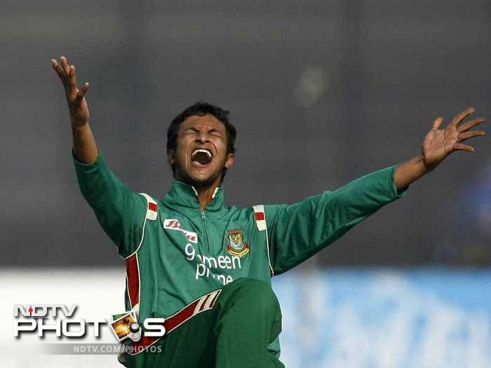 Shakib Al Hasan, with his left arm spin is expected to be a deadly force on the slow and low turning pitches of Bangladesh. Also his ability with the bat gives the Bangladeshis an extra batting option.
