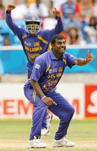 The Sri Lankan spinner par excellence is not new to holding records as he tops the wicket taking charts in both the ODI and Test arenas. Thus it is but natural that Murali has taken the maximum number of wickets in the Asia Cup as well.<br><br>With 27 wickets from 21 matches, Murali is ahead of the pack with an average of 26.74 and a phenomenal economy rate of 3.56 runs per over.<br><br>With pressure mounting on him to take more wickets in the last few months, Muralitharan will look to make it count when he plays on home soil in this year's tournament.