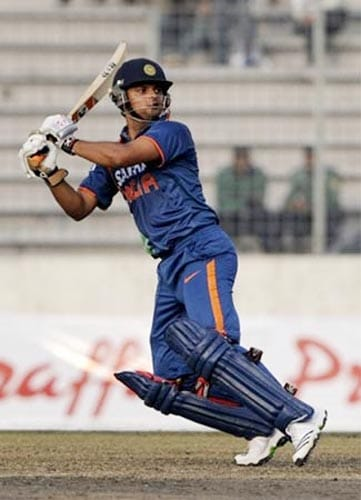 The youngster has been 'found out' on bouncy pitches, but he still remains one of the brightest hopes with the bat for India in the future. The left hander was at his devastating best the last series in Pakistan in 2008 when was just 6 runs shy of Sanath Jayasuriya's tally of 378 runs in the tournament.<br><br>Raina scored 2 centuries and 2 fifties on way to cracking 372 runs in 6 matches and is thus placed second in the most runs scored in a single Asia Cup tournament list.<br><br>The left-hander will be the mainstay of the Indian middle-order if the selectors decide to drop out of form Yuvraj Singh.