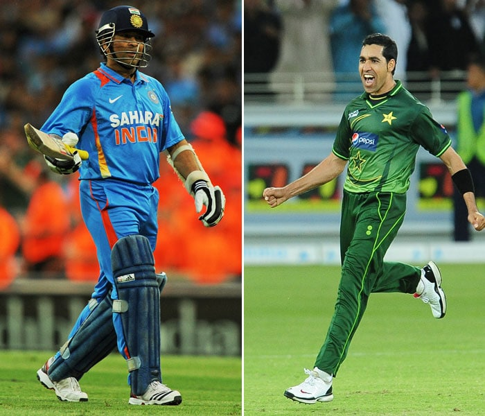 The fulcrum of India's batting order pitted against Pakistan's leading bowler. Umar Gul has had the better of Sachin Tendulkar in the past but the little master also has taken him for runs. Sachin will look to set himself up for a big score while Gul's thirst for wickets makes him a force to reckon with early on in the innings.