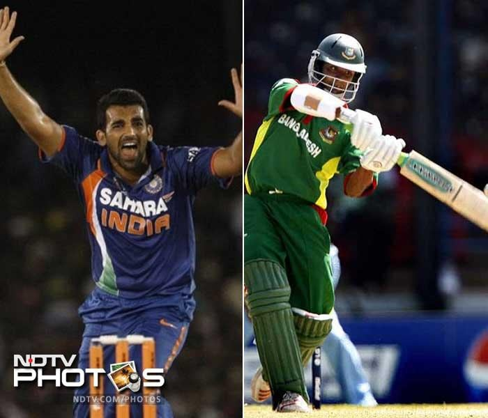 Tamim Iqbal has built a reputation of being an aggressive opening batsman. Canny paceman Zaheer Khan has a tendency of getting early wickets which make the battle between the two an exciting prospect.The two have clashed before back in the 2007 World Cup and expect another contest when they face off in the upcoming Asia Cup.