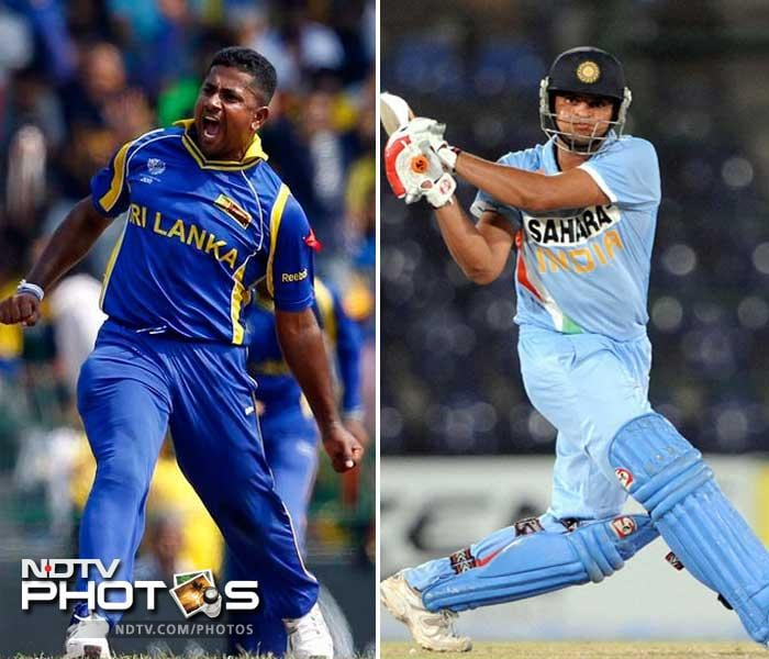 It will be India's middle order which will be up against the spin of Sri Lanka as Suresh Raina's battle with Rangana Herath will be the one to watch out for. Whoever gets the upper hand could determine the outcome of the game.