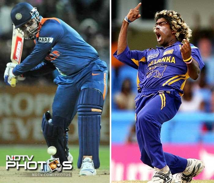 Virender Sehwag is most dangerous at the start of the innings and once he gets going, it doesn't take him long to demoralise a bowling attack. Lasith Malinga is very effective with his yorkers and his unusual action makes him that more dangerous.