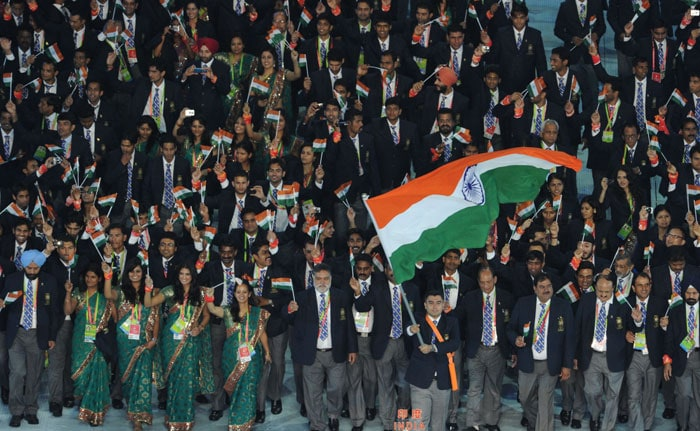 Opening ceremony of the asian games