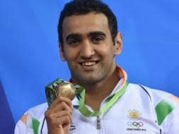 Photo : Asian Games: India Win Shooting Silver, Rare Swimming Bronze