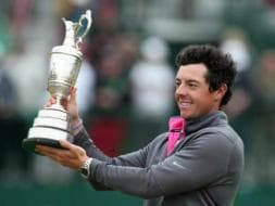 Photo : Rory McIlroy Wins British Open as Tiger Woods Falters