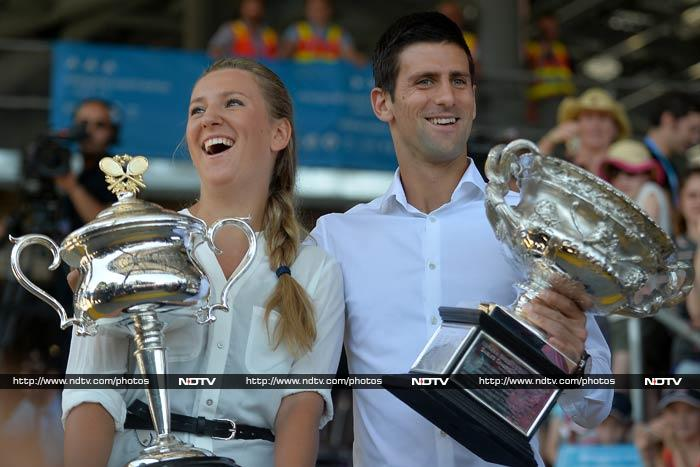 The two players - neither of whom are currently at top of WTA and ATP rankings - will have a tough task in the days ahead.
