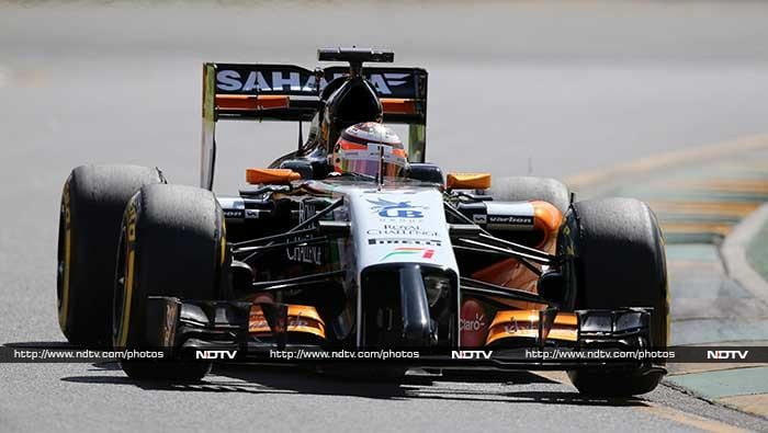 Sahara Force India fans had some cheer as Nico Hulkenberg finished seventh quickest.