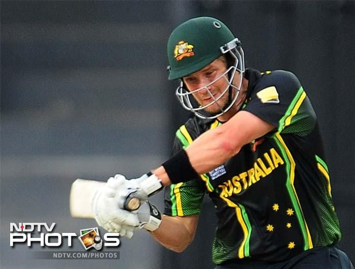 Man-of-the-Match Shane Watson added a fluent an innings of 51 from 30 balls to his three-wicket haul to see Australia sail through their opener in World T20.