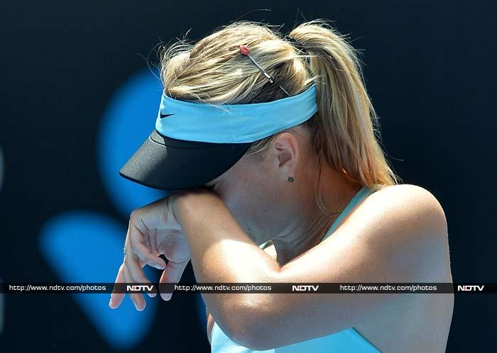 The mark of a true sportsperson if how defeat is accepted. And often, tennis players are unable to hide their emotions in the face of a loss. <br><br>Here are a few examples when defeat tasted extremely bitter during the Australian Open 2014 tournament. (All images courtesy AFP)