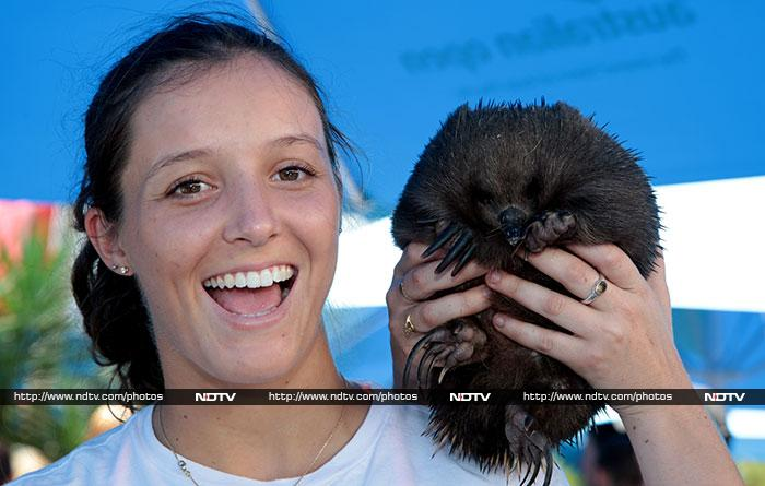 A visit to Melbourne is not complete without the customary 'hello' to endangered animals. <br><br>As the countdown to the year's first Grand Slam enters its final phase, here is how tennis stars are getting their fighting spirits up.<br><br>All images courtesy: AFP PHOTO / TENNIS AUSTRALIA / FIONA HAMILTON