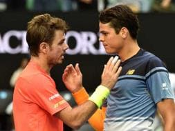 Photo : Australian Open Day 8: Stanislas Wawrinka Out, Sania Mirza-Martina Hingis Advance