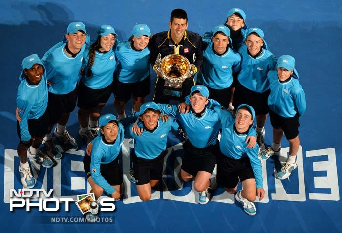 It is that time of the year again when tennis gets set to welcome the first Grand Slam. <br><br>This year, Australian Open will once again see big names battle it out for the title. Helping them in 2014 though, will be former greats and legends. <br><br>Take a look.
