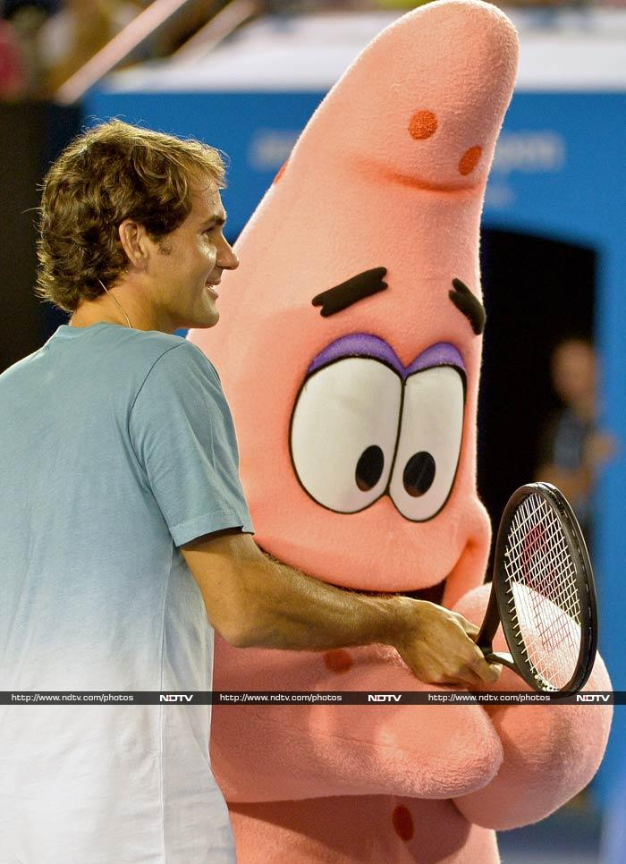 Australian Open has always been as much about tennis as it has been for a jolly good time. <br><br>This year is proving to be no different! <br><br>All images courtesy AFP.