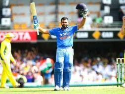 Photo : Rohit Sharma's Ton Goes in Vain, Australia Achieve Record Chase in Brisbane
