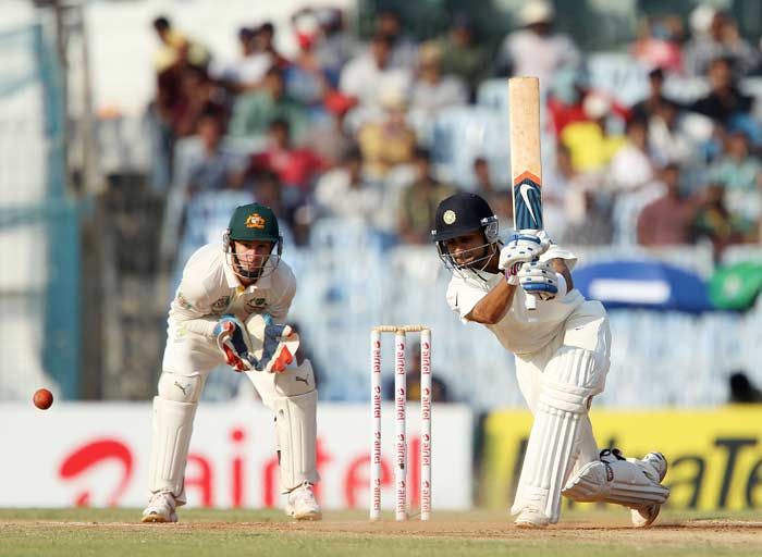 Kohli replaced Pujara and struck a fifty for himself as he looked to provide Tendulkar support and pile the misery on Australia, going forward. (BCCI image)