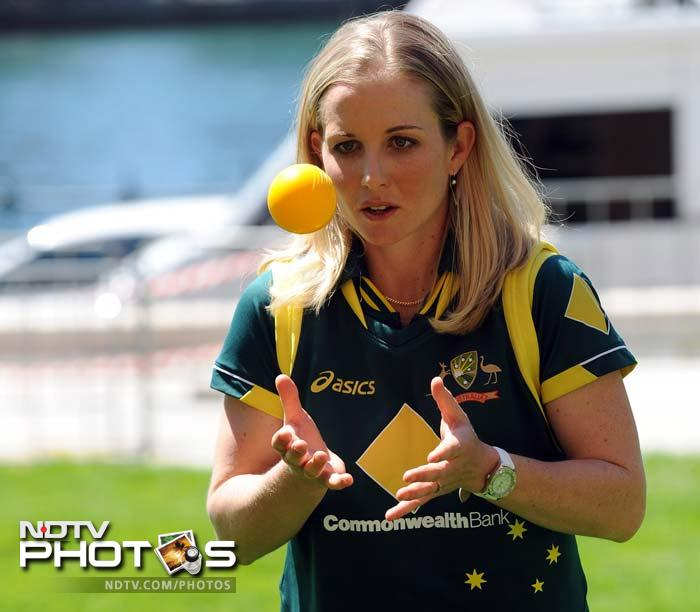 Members of the women's team were also present here.<br><br>This is Sarah Fields of Southern Stars.