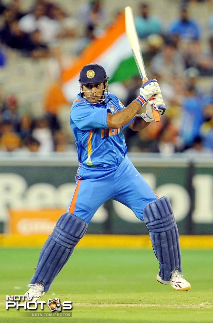 Skipper MS Dhoni managed 29 runs but it was just too little too late for India as the visitors were bowled out in 29.4 overs.
