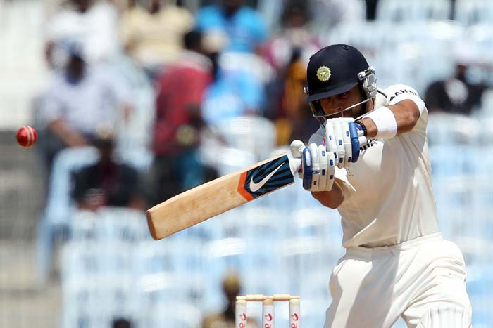 There was no stopping Kohli at the other end though.<br><Br>He showcased almost every shot in his arsenal as he played spin and pace with ease that is trademark of a player in form. (BCCI image)