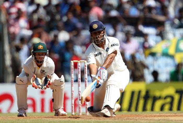 MS Dhoni dominated Day 3 with a magnificent double century as India finished Sunday's cricketing action with a lead of 135 runs and two wickets to spare against Australia. A look at the day's play. (BCCI images)