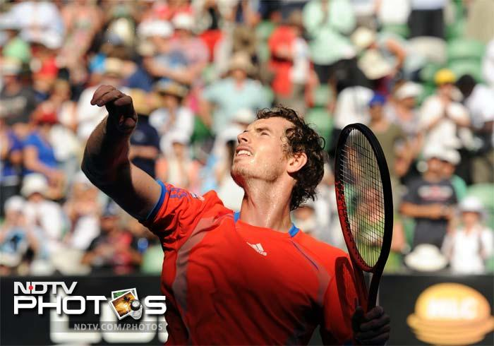 The rising sun at the other end, in the men's draw, was sunk by Britain's Andy Murray. The 2010 and 2011 Australian Open runner-up won 6-3, 6-3, 6-1 against Japan's Kei Nishikori.