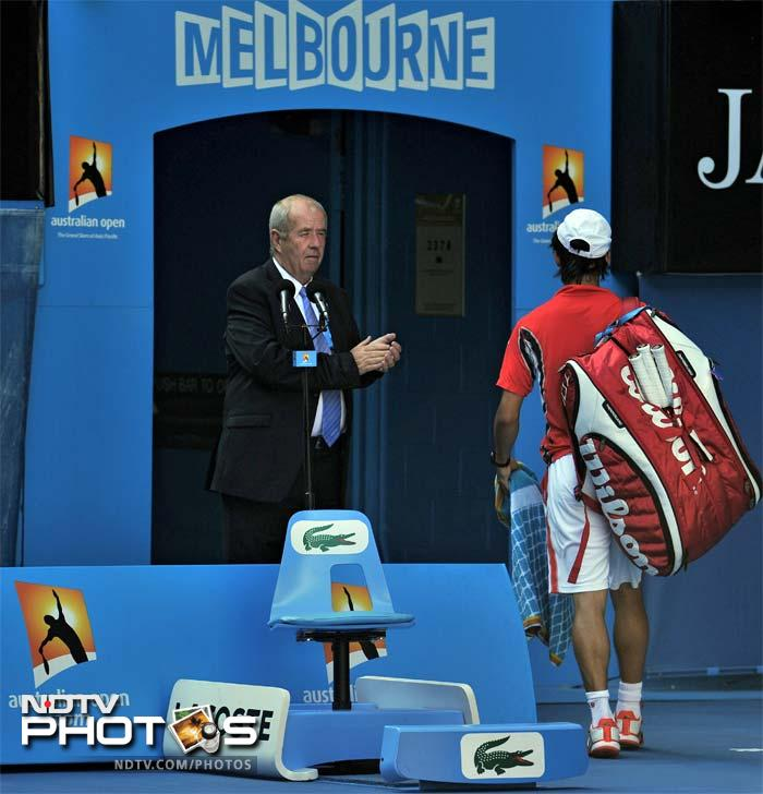 It was just not Nishikori's day but he would still take the laurel of being one of the most successful Japanese here, back home.