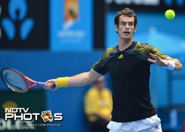 In the later part of the day, Andy Murray eased into the quarterfinal with a win against Gilles Simon of France 6-3, 6-1, 6-3.