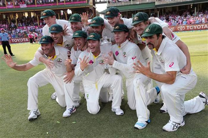After a 5-0 Ashes whitewash Australia leapfrogged Pakistan and England to 3rd in the ICC Test rankings, to within six points of second-placed India.