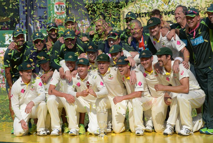 Every member of the Australian backroom staff can take pride in the massive turnaround for Australian, who hadn't won a Test all year prior to this series.