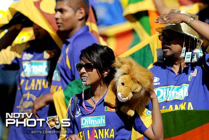 Sri Lankan fans were pensive as the Australian batsmen were more solid than aggressive. Shane Watson managed 19 while Clint McKay scored 28 runs for his side.