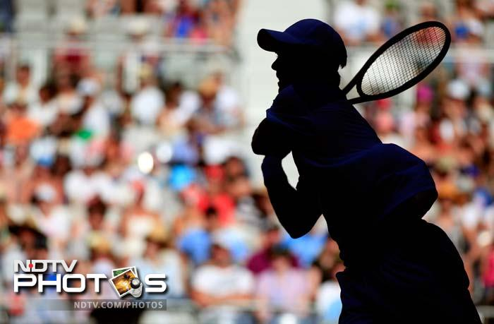 A look at the opening day of the Australian Open tennis championships where most seeded players began their campaign well. (All AFP and AP Images)