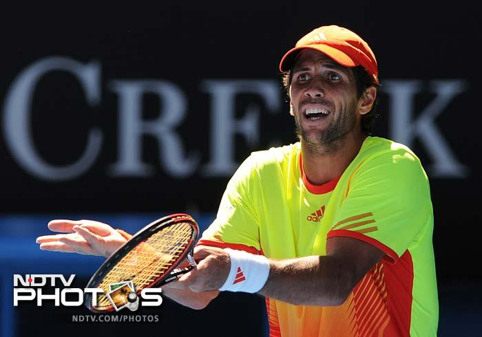 Verdasco lost 4-6, 6-7, 6-4, 6-2, 7-5 to the 19-year-old.