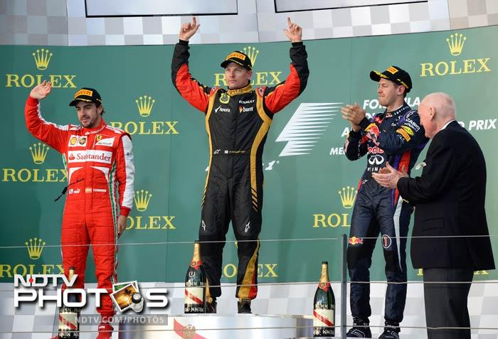 """""""I thought it should be easy to do it,"""" Raikkonen said of the two-stop strategy, """"and I got a good start and it went well."""" <br><br> """"We had a good plan and followed the plan and it worked out perfectly for us. It was one of the easiest races I have done to win a race."""""""