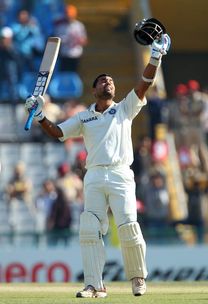 In comparison to Dhawan, Murali Vijay was 'slow' but his 153-run knock was as important for the team's cause. It is evident from the fact that while Dhawan-Vijay amassed 289, the whole team after that added 'just' 210. (BCCI Image)