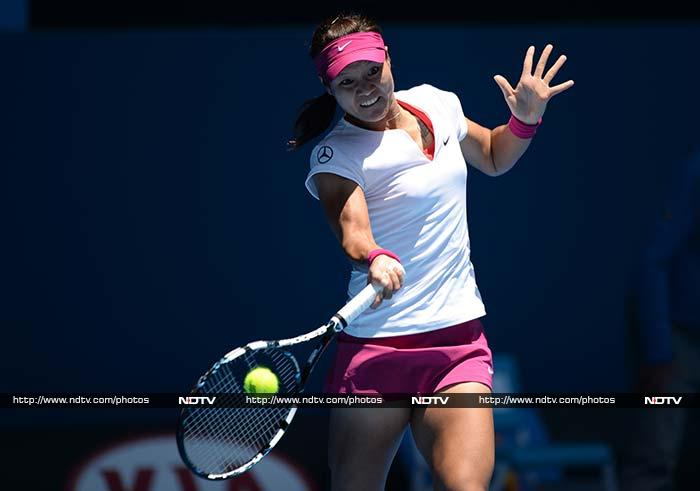 China's Li Na stormed into the Australian Open second round with a straight-sets demolition of junior champion Ana Konjuh, 16, as she set about ending her tournament jinx. (All AFP and AP images)