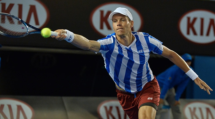Tomas Berdych had a shaky start and gave Wawrinka a chance to take an early advantage. While both players were good at serves, it was Berdych who was the first to give in and concede points.