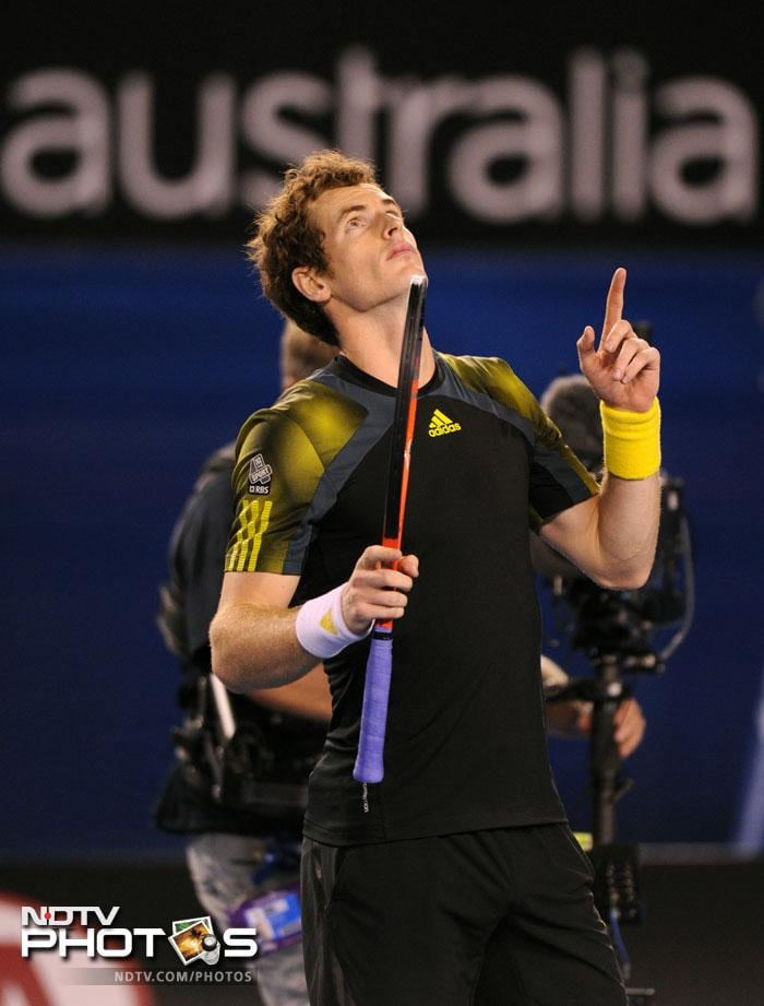 Andy Murray did hold his nerve when it mattered and won the 5th set 6-2. This was the first time he had beaten Roger Federer in a Grand Slam and will now face Novak Djokovic in the final on Sunday.