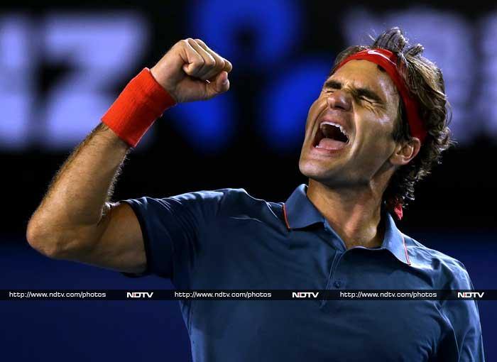 Record Grand Slam champion Roger Federer set up semi-final with Rafael Nadal after beating Andy Murray in the last eight. The Swiss sixth seed beat the Wimbledon champion 6-3, 6-4, 6-7 (6/8), 6-3 in three hours 20 minutes.