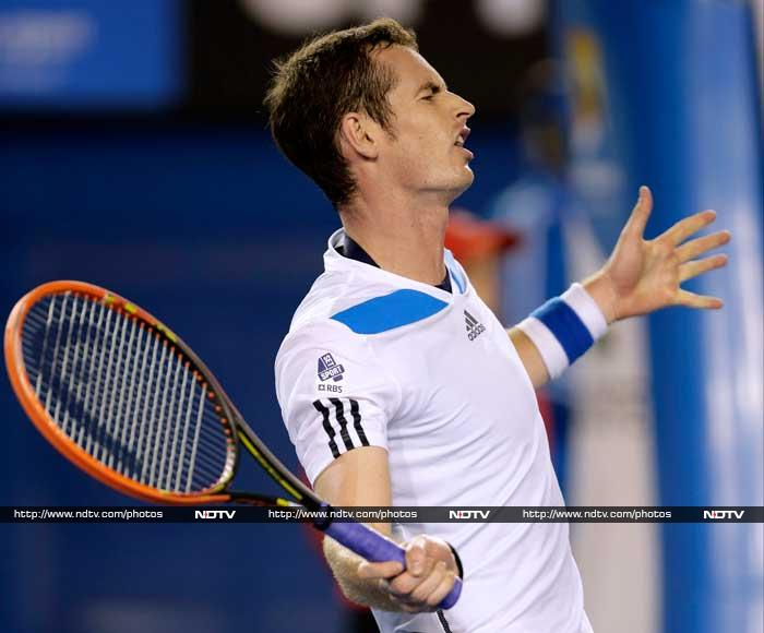 """Andy Murray said he was always """"very unlikely"""" to win the Australian Open four months after back surgery but added he was happy with his progress despite going out against Roger Federer."""