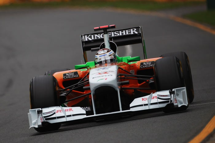 Force India were also among the points as both drivers, Adrian Sutil (9th) and Paul di Resta (10th) finished in the top 10, while Sebastien Buemi of Toro Rosso secured the 8th spot.