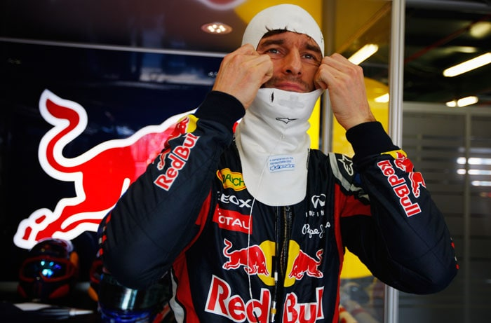Vettel's Red Bull team-mate Mark Webber finished 5th after having started 3rd on the grid. It was the 3rd time Webber finished 5th in his home Grand Prix.