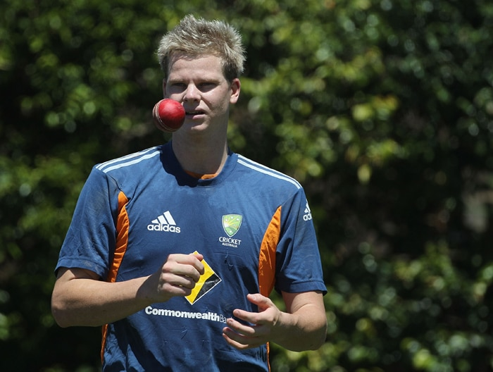 <b>STEVE SMITH</b><br><br> <b>Age: </b>21.<br><b>Role: </b>Right-hand batsman, Right-arm leg-spin.<br> <b>Stats: </b>ODIs 15, Runs 240, Highest 46no, Average 26.67, Strike-Rate 90.91, Centuries 0, Fifties 0, Catches 6. Wickets 17, Best Bowling 3-33, Average 26.67, Economy-Rate 87.28.<br><br> Promising young spinner who is also an outstanding batsman and fielder and the youngest player in the squad. His impetuosity can be his undoing at times.(Photo: Getty Images)