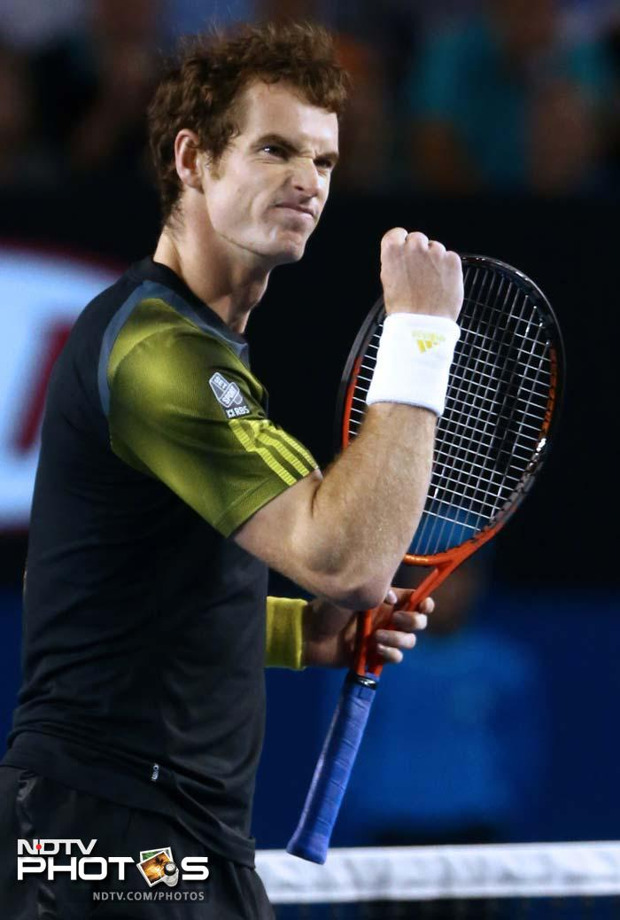 Murray, the British world number three, began well but he battled a left hamstring injury and blistered feet as Djokovic stepped up.