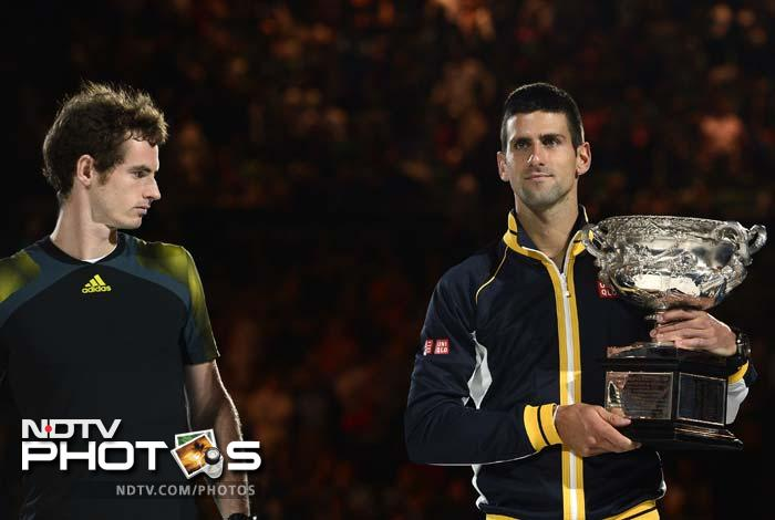 Djokovic confirmed his standing as the number one ranked player while Murray will remain in the third position behind Roger Federer.