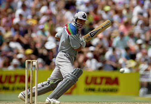 <b>World Cup ODI: February 22, 1992, Auckland</b> <br><br><b>Result: </b>New Zealand won by 37 runs<br><br> New Zealand captain Martin Crowe, one of the outstanding batsmen of his generation, made exactly 100 not out in a total of 248 for six in the opening match of a tournament that saw him spring a surprise by opening the bowling with off-spinner Dipak Patel.<br><br>Despite a century from David Boon, no other batsman in a line-up for defending champions Australia featuring Dean Jones, Allan Border and Mark Waugh made more than Steve Waugh's 38. Patel took one for 36 and unsung medium-pacer Gavin Larsen three for 30.